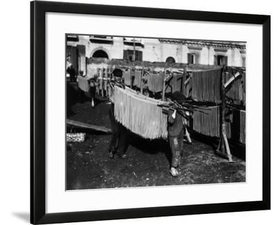 Pasta Industry--Framed Photographic Print