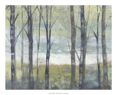 Pastel Birches II-Jennifer Goldberger-Art Print