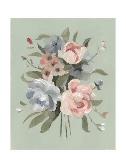 Pastel Bouquet II--Art Print