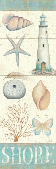 Pastel Coast Panel II-Daphne Brissonnet-Premium Giclee Print