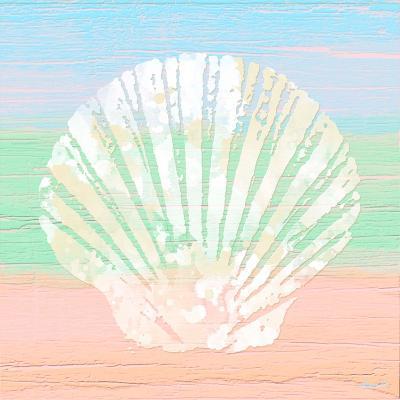 Pastel Coastal 1-Alonza Saunders-Art Print
