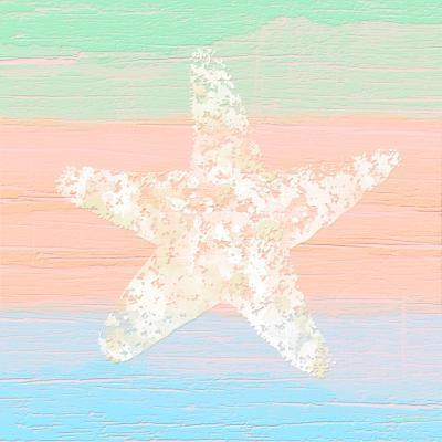 Pastel Coastal 3-Alonza Saunders-Art Print