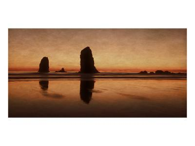 Pastel Evening on the Coast-Don Schwartz-Premium Giclee Print