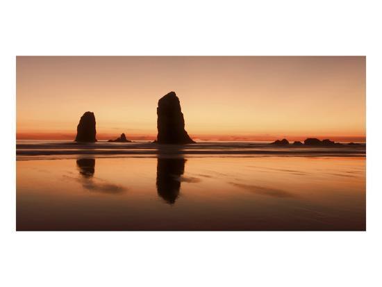 Pastel Evening on the Coast-Don Schwartz-Art Print