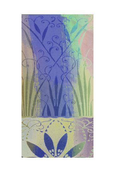 Pastel Filigree II-Ricki Mountain-Art Print
