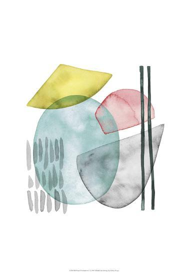 Pastel Formation I-Grace Popp-Art Print