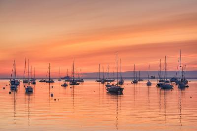 Pastel Harbor-Michael Blanchette-Photographic Print