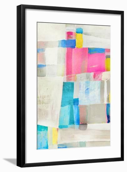Pastel Huxes I-PI Studio-Framed Art Print