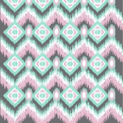 Pastel Ikat-Joanne Paynter Design-Giclee Print
