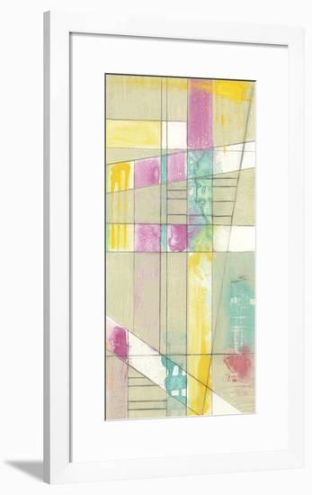 Pastel Ladder II-Jennifer Goldberger-Framed Limited Edition