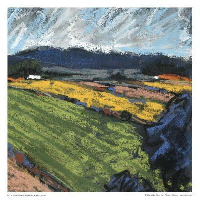 Pastel Landscape VI-Jacques Clement-Art Print