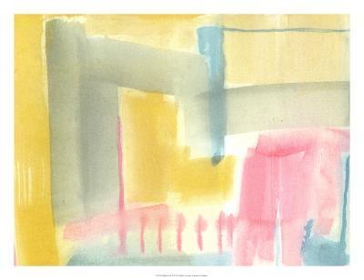 Pastel Luxe II-Jennifer Goldberger-Art Print