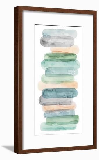 Pastel Matchsticks II-Grace Popp-Framed Premium Giclee Print