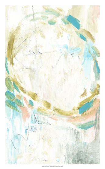 Pastel Movement II-Jennifer Goldberger-Art Print