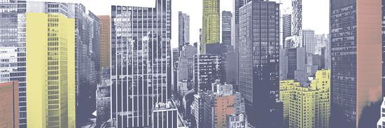 Pastel NYC Panorama-Jeff Pica-Photographic Print