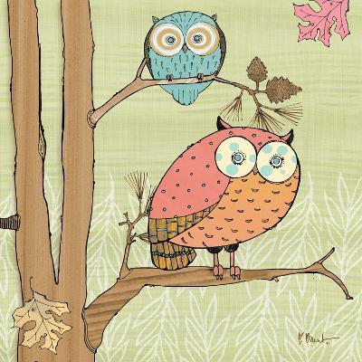 Pastel Owls I-Paul Brent-Art Print