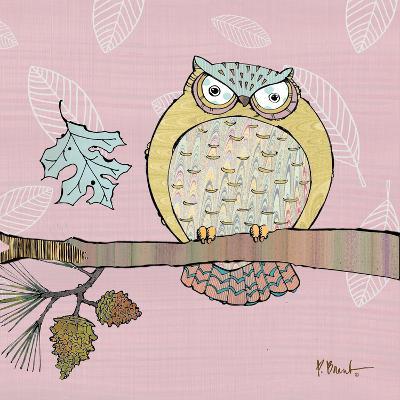 Pastel Owls III-Paul Brent-Art Print