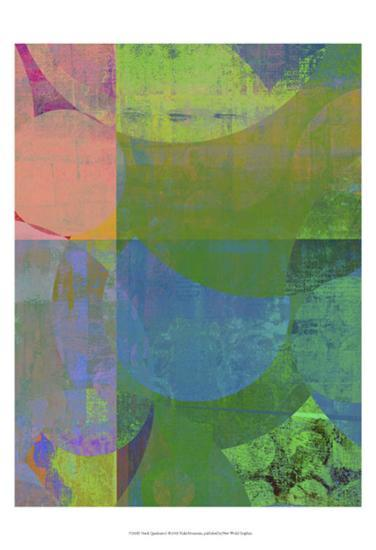 Pastel Quadrants I-Ricki Mountain-Art Print
