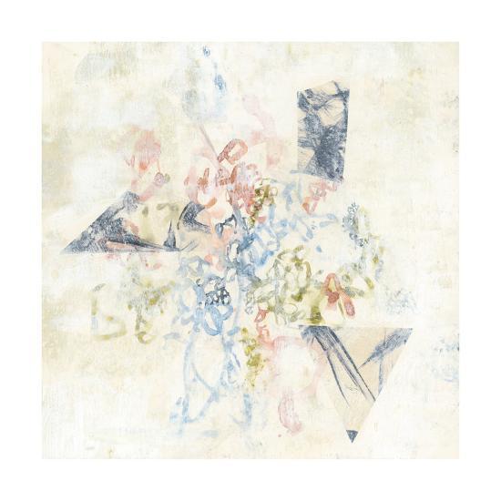Pastel Scribble II-Jennifer Goldberger-Art Print