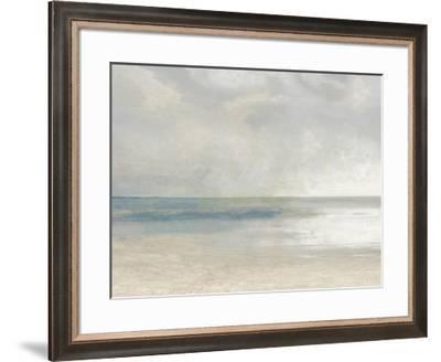 Pastel Seascape IIIA-Christy McKee-Framed Giclee Print