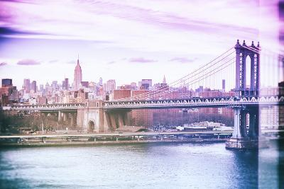 Pastel Series - New York City-Philippe Hugonnard-Photographic Print