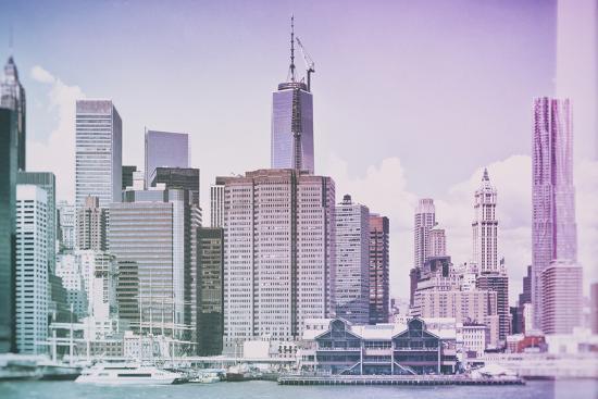 Pastel Series - New York City-Philippe Hugonnard-Photographic Print