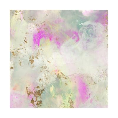 Pastel Swoop I-Jennifer Goldberger-Art Print