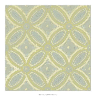 Pastel Tile Design II-Studio W-Art Print