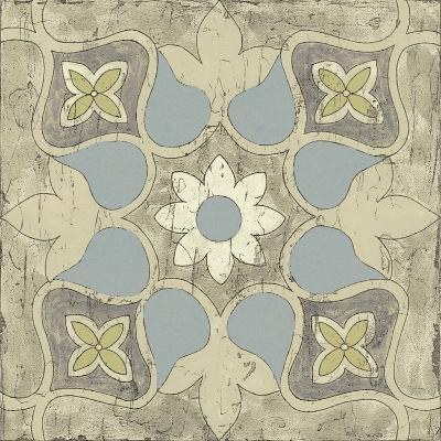 Pastel Tile Design V-Studio W-Art Print
