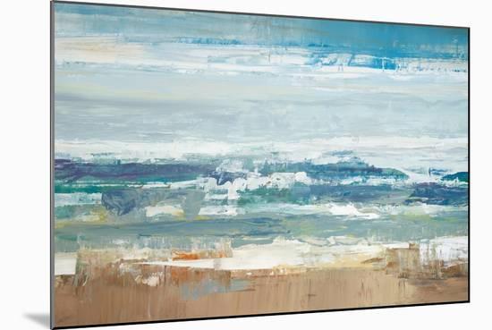 Pastel Waves-Peter Colbert-Mounted Premium Giclee Print
