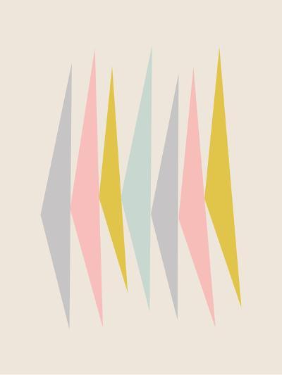 Pasteltriangle-Nanamia Design-Art Print