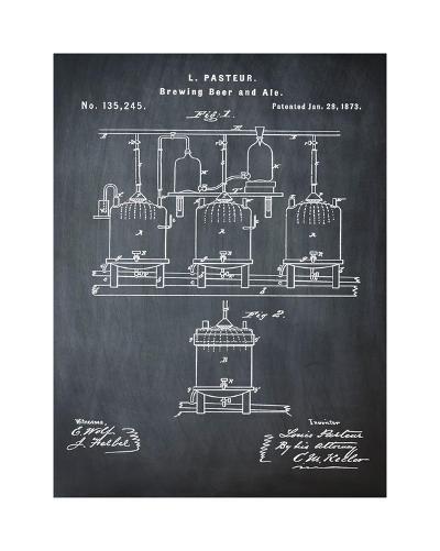 Pasteur Chalk-Bill Cannon-Giclee Print
