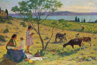 Pastoral (Bucolique), Ca. 1932-Henri Martin-Giclee Print