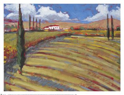 Pastoral Fields I-Craig Alan-Art Print