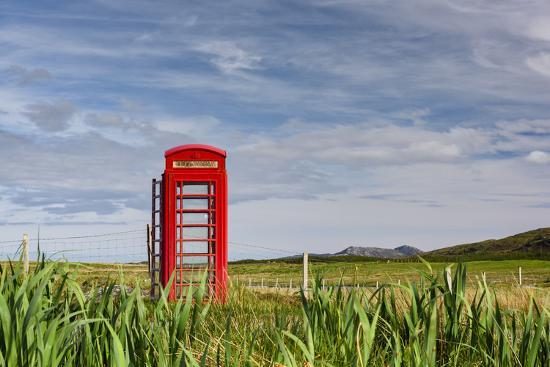 Pastoral Phone Box-Michael Blanchette Photography-Photographic Print