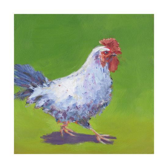 Pasture Henrietta I-Carol Young-Art Print