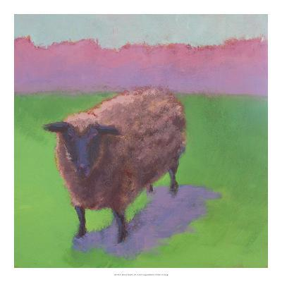 Pasture Sheep-Carol Young-Art Print