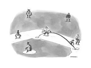 Opening Day - Cartoon by Pat Byrnes