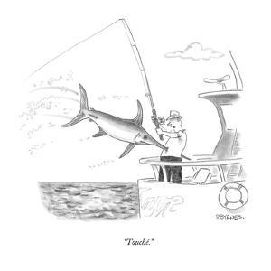 """""""Touché."""" - New Yorker Cartoon by Pat Byrnes"""