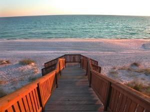 Boardwalk Leading to Shore by Pat Canova