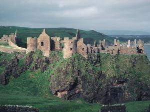 Dunluce Castle on Cliff, Northern Ireland by Pat Canova