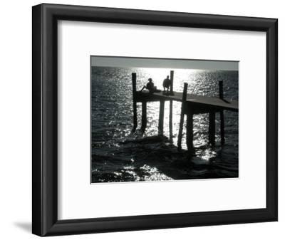 Early Morning Fishing, Cedar Key Pier, FL