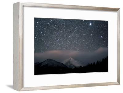 Stars over Rocky Mountain National Park
