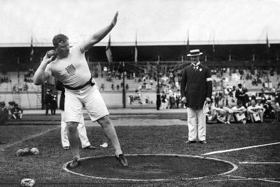 Pat MacDonald at the 1912 Summer Olympics in Stockholm, 1912--Photographic Print