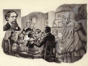 A Christmas Carol by Charles Dickens by Pat Nicolle
