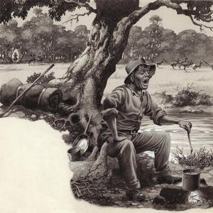 A Jolly Swagman by Pat Nicolle