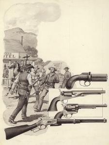 A Wild West Gunfight by Pat Nicolle