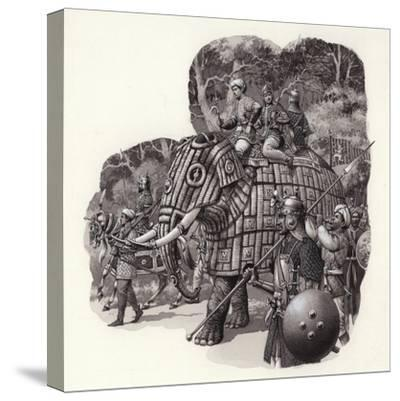 Armoured Chinese Army Elephant