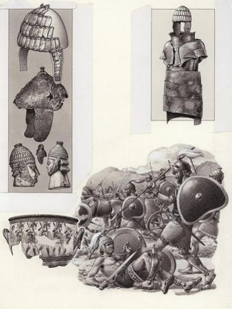 Bronze Age Greek Armour