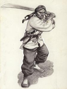 Chinese Boxer Warrior by Pat Nicolle